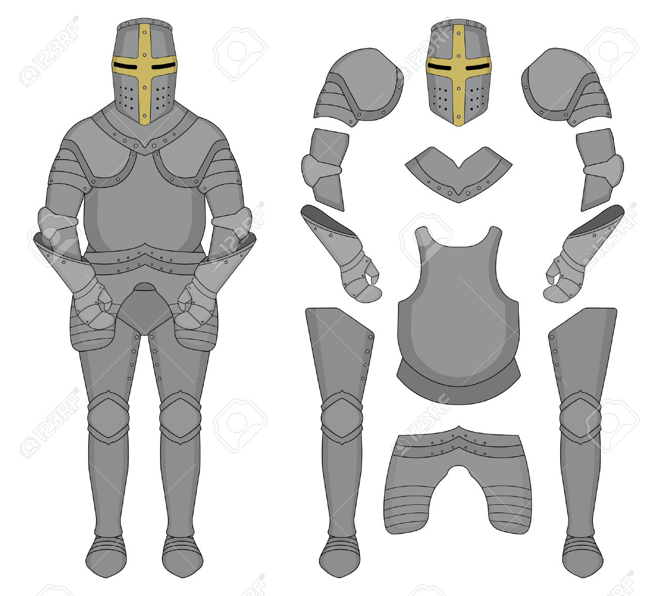 Armor clipart #3, Download drawings