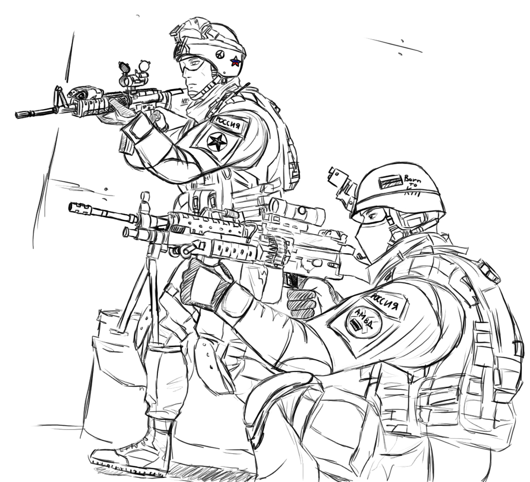 Army coloring #19, Download drawings
