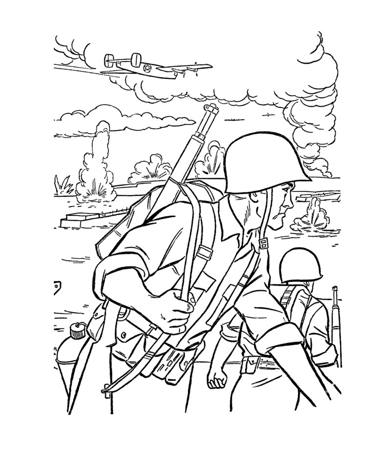 Battlefield coloring #19, Download drawings