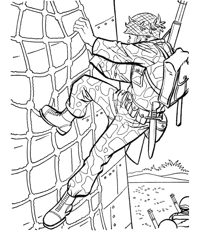 Military coloring #18, Download drawings