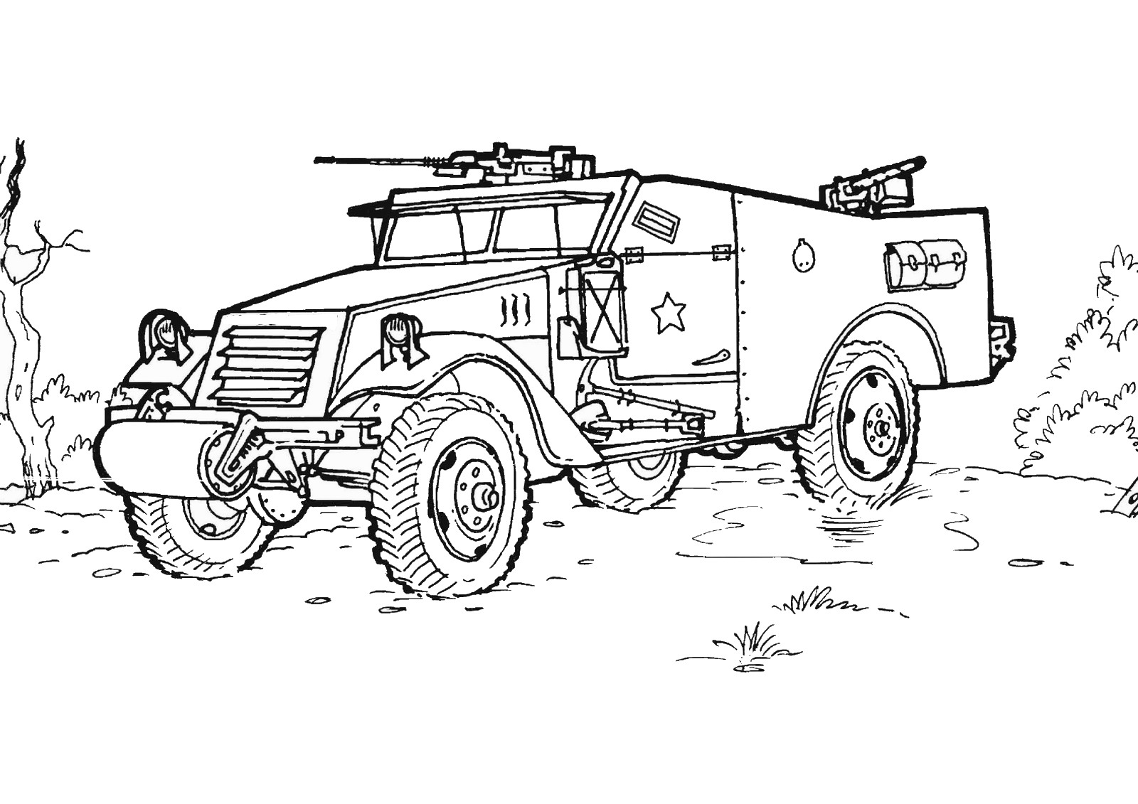 Army coloring #1, Download drawings