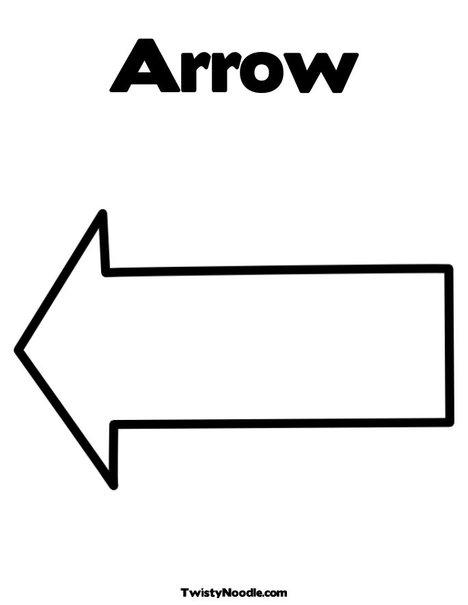 arrow coloring pages - arrow coloring download arrow coloring