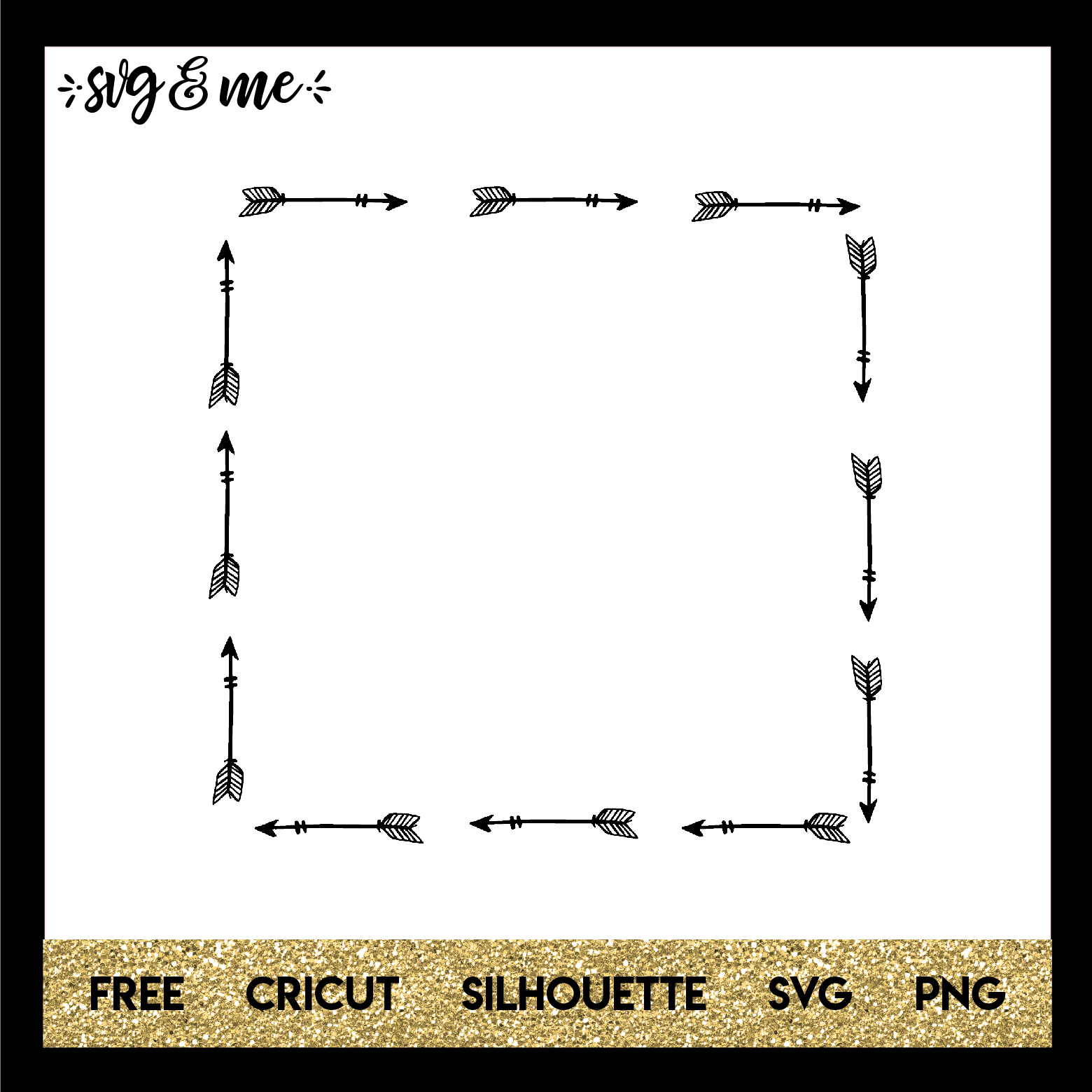 arrow frame svg #681, Download drawings