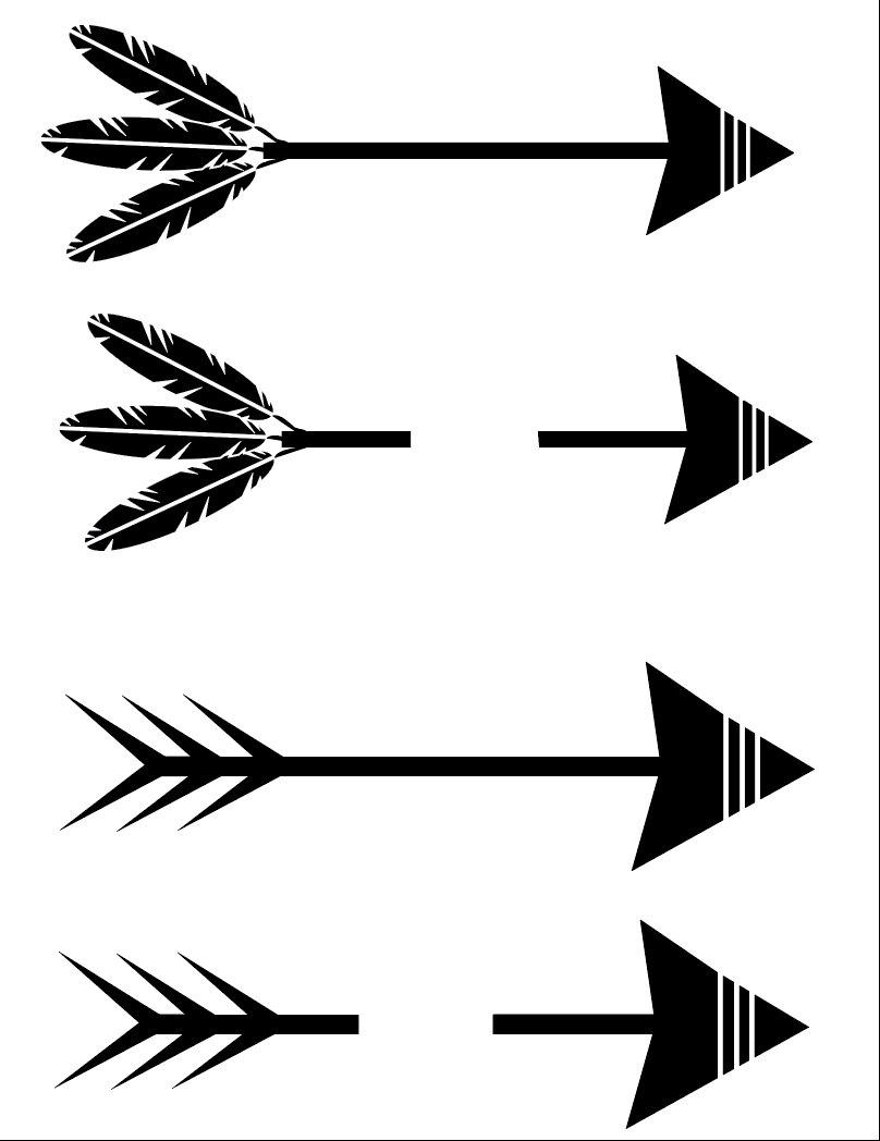 split arrow svg #1262, Download drawings
