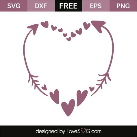arrow with heart svg free #64, Download drawings