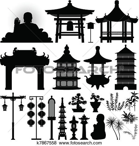 Asian clipart #2, Download drawings