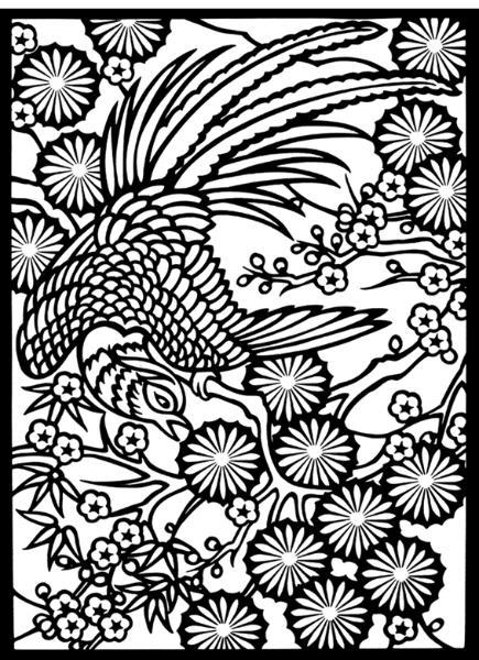 Asian coloring #15, Download drawings