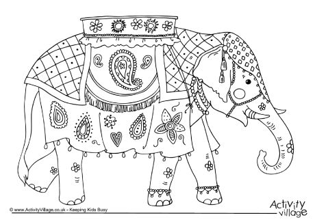 Indian coloring #17, Download drawings
