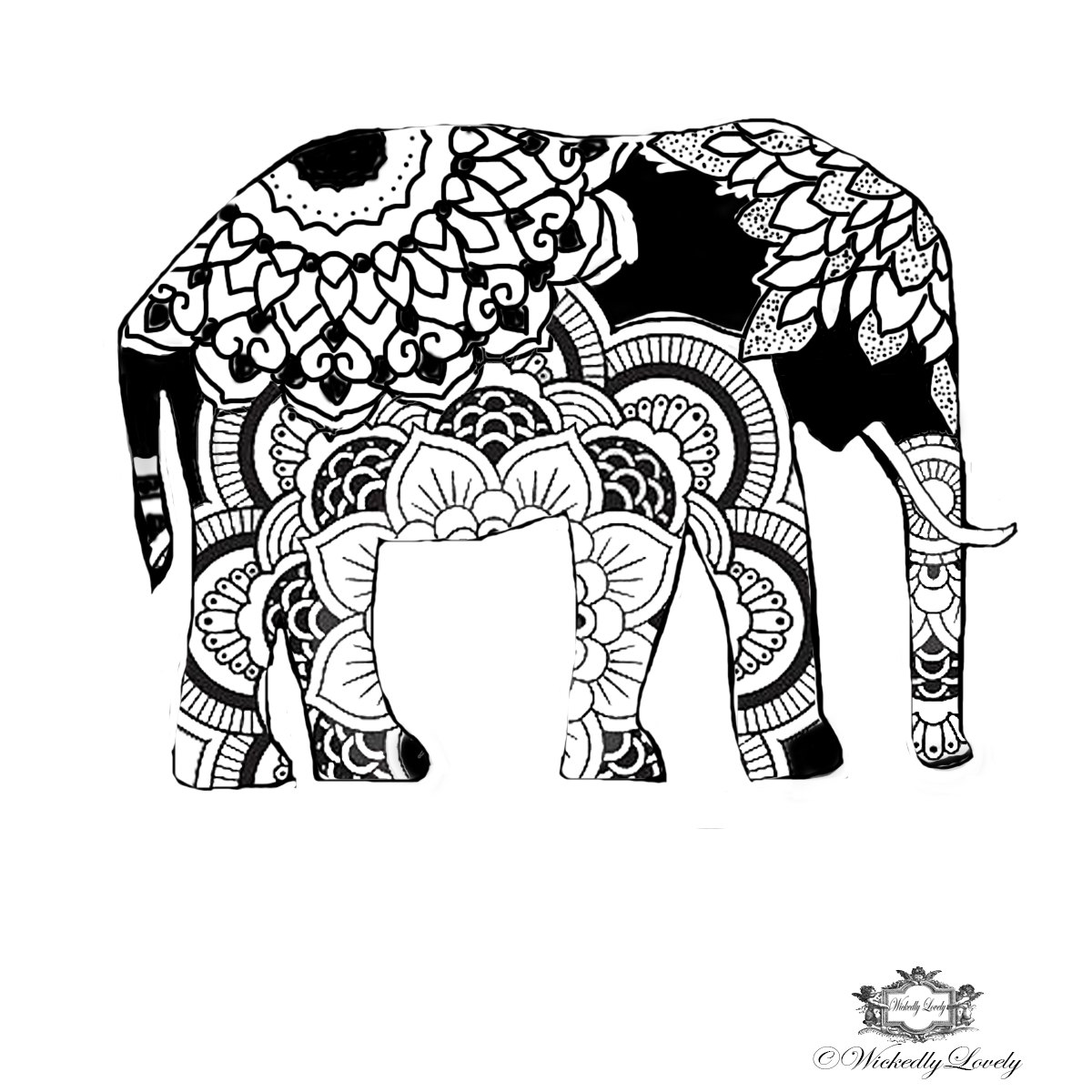 Asian Elephant svg #6, Download drawings