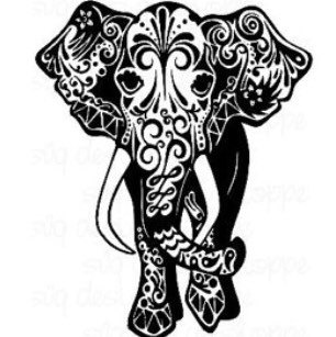 Asian Elephant svg #8, Download drawings