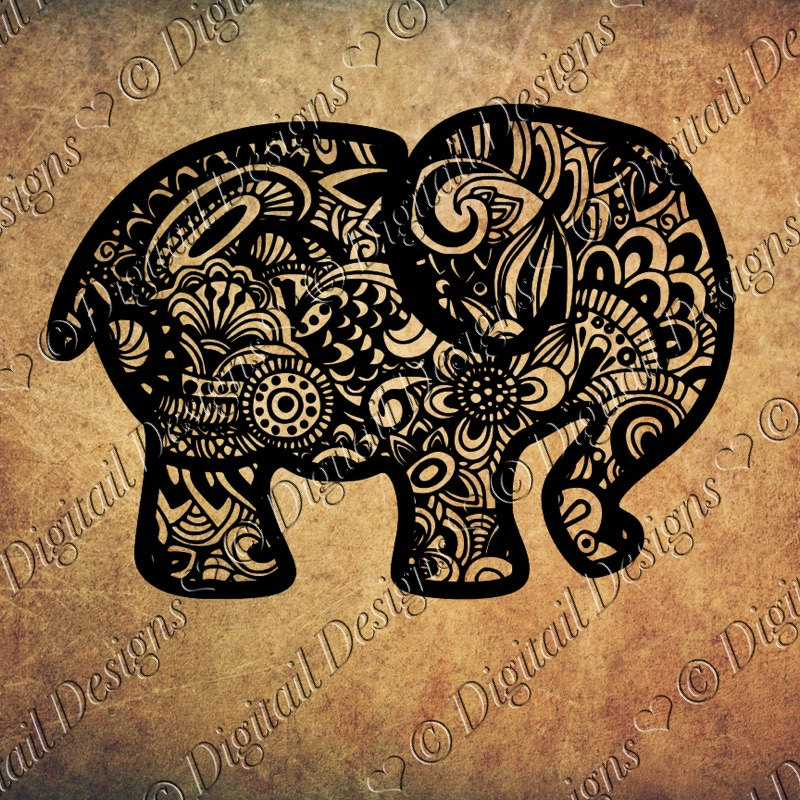 Asian Elephant svg #16, Download drawings