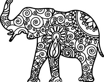 Asian Elephant svg #15, Download drawings