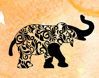 Asian Elephant svg #13, Download drawings