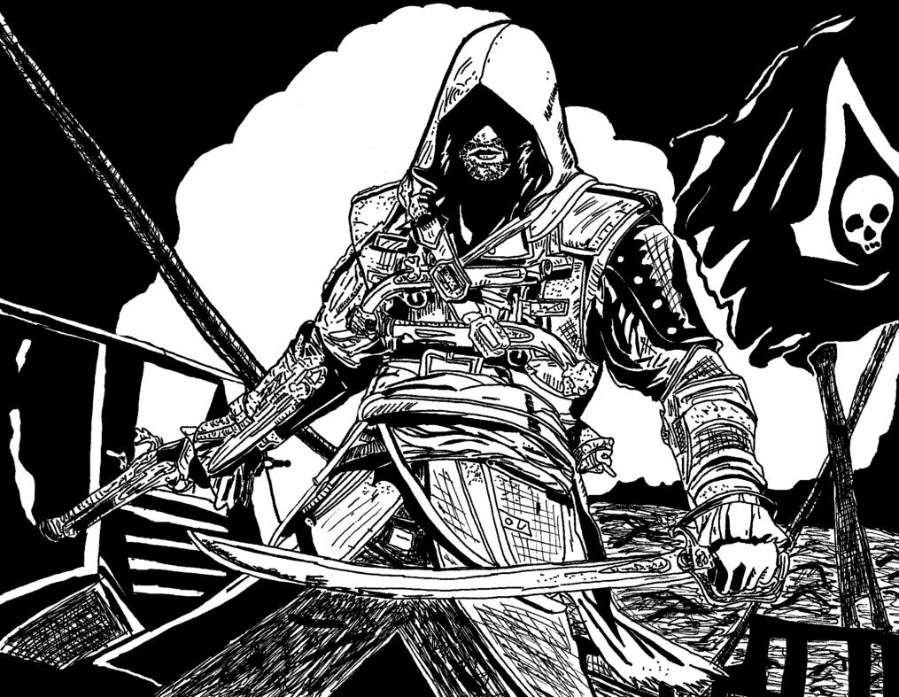 Assassin coloring #13, Download drawings