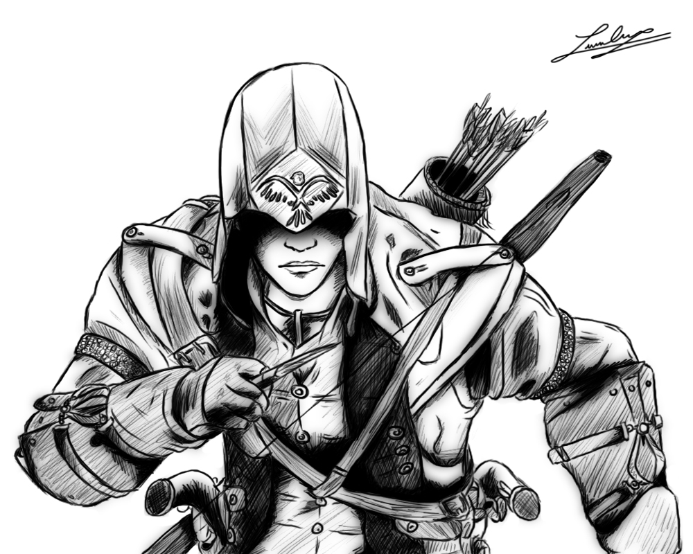Assassin coloring #8, Download drawings