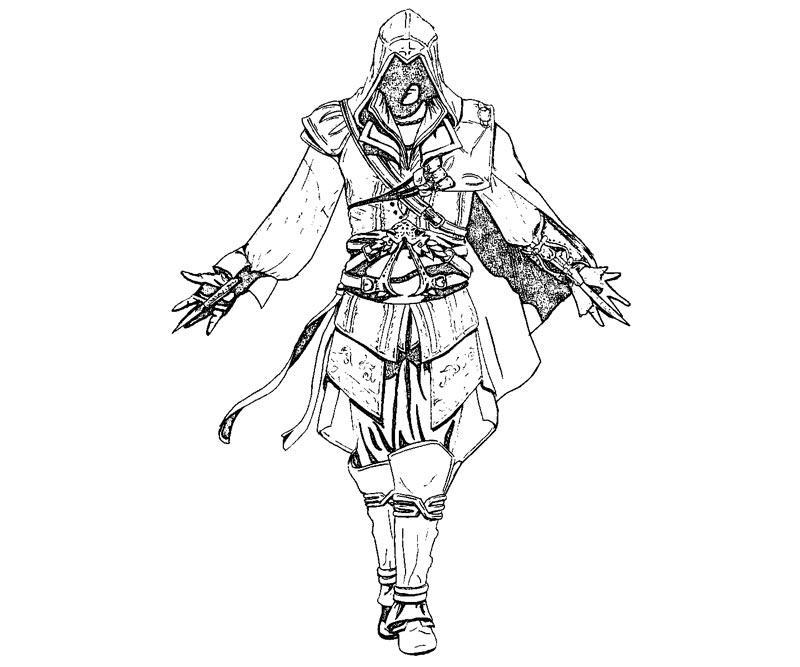 Assassin coloring #12, Download drawings