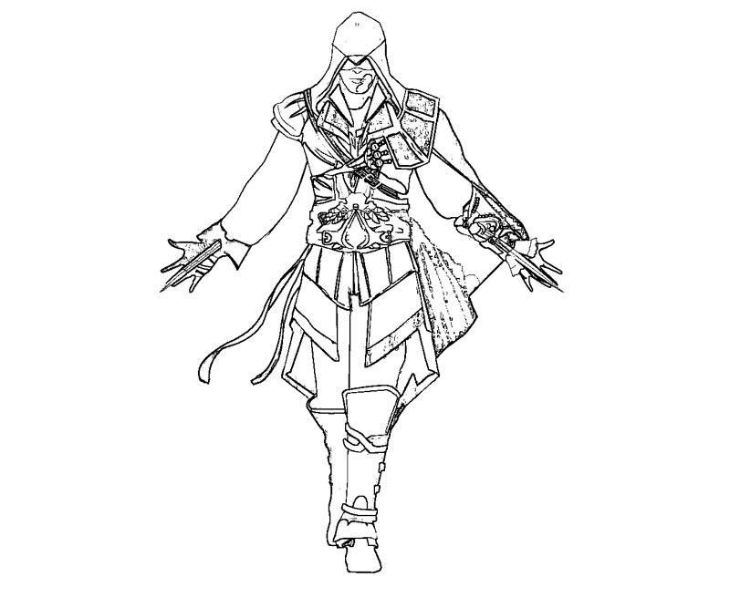 Assassin coloring #20, Download drawings