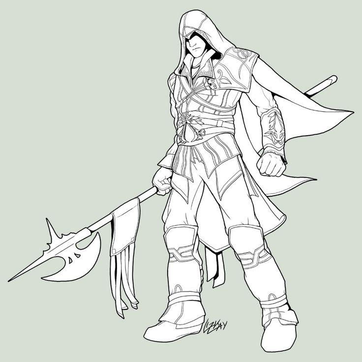 Assassin coloring #19, Download drawings