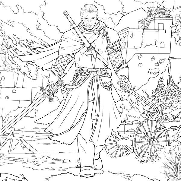 Assassin coloring #18, Download drawings