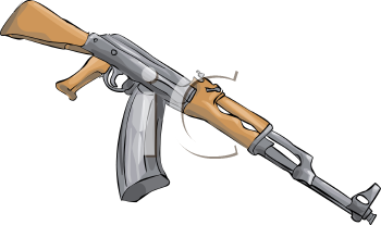 Assault Rifle clipart #1, Download drawings