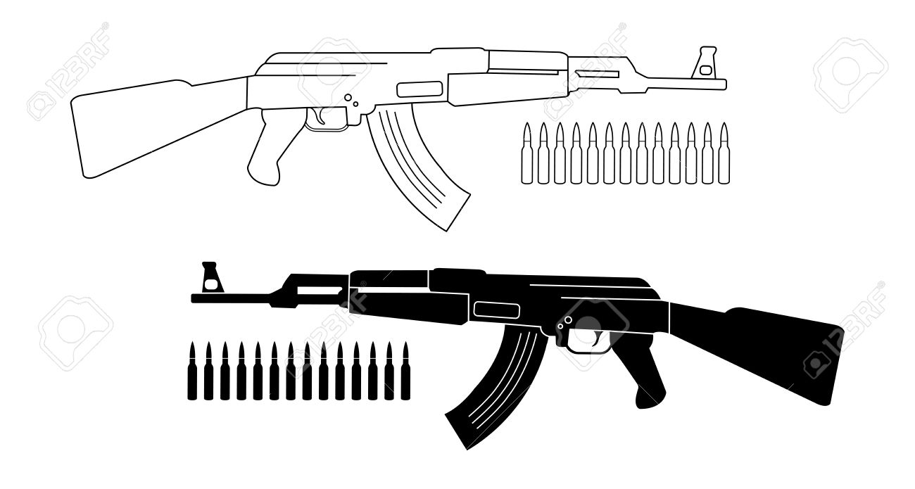 Assault Rifle clipart #11, Download drawings