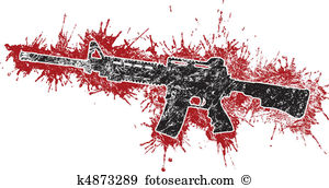 Assault Rifle clipart #3, Download drawings
