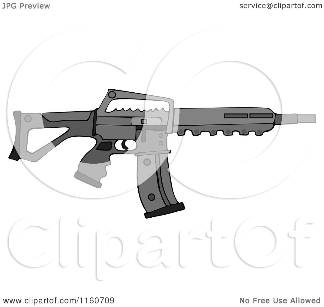 Assault Rifle clipart #7, Download drawings