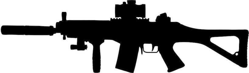 Assault Rifle clipart #17, Download drawings