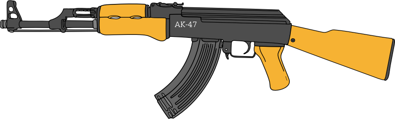 Assault Rifle clipart #16, Download drawings