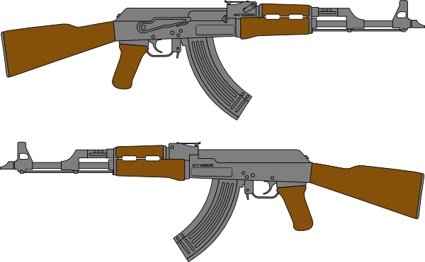 Assault Rifle clipart #14, Download drawings