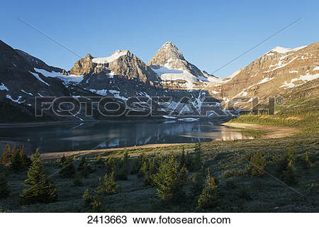Assiniboine Mountain clipart #16, Download drawings