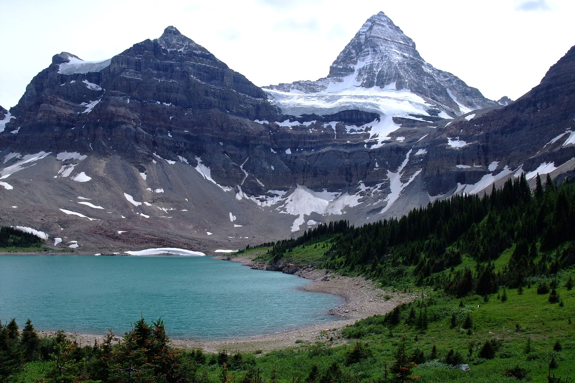 Assiniboine Mountain svg #15, Download drawings