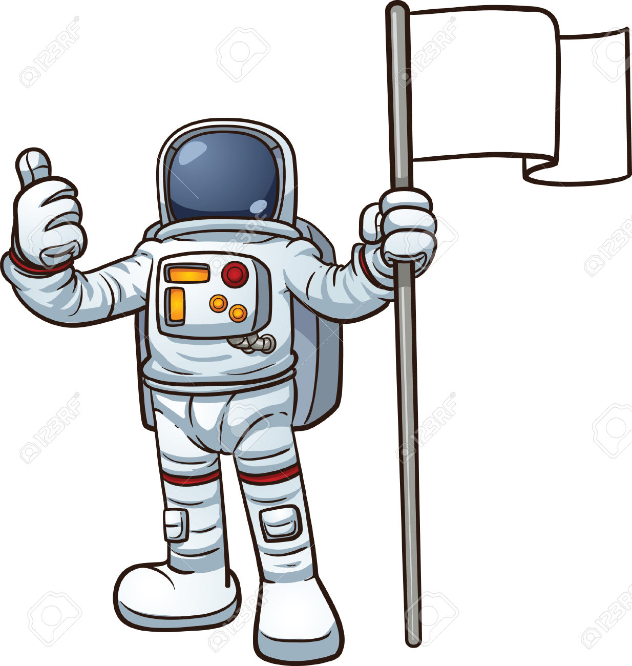 Astronaut clipart #2, Download drawings