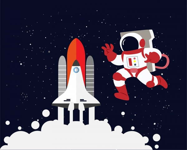 Astronaut svg #7, Download drawings