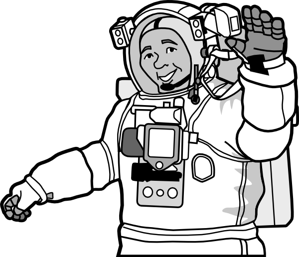 Astronaut svg #6, Download drawings