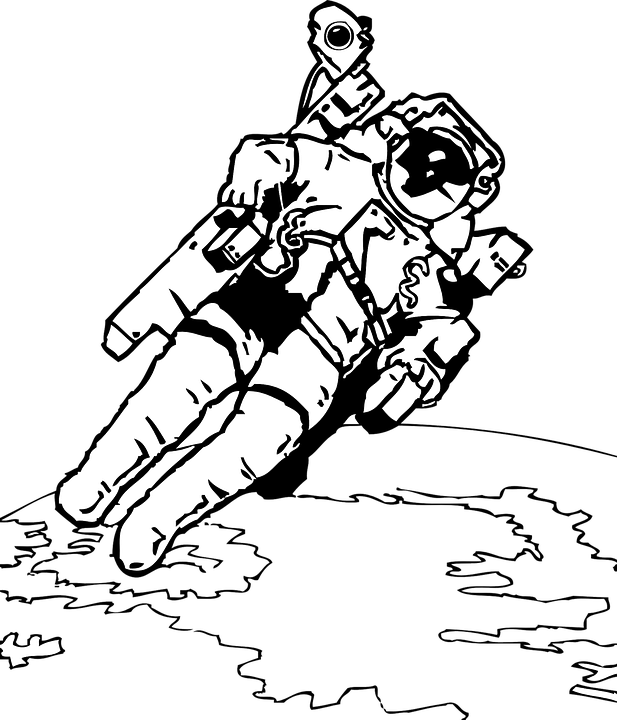Astronaut svg #5, Download drawings
