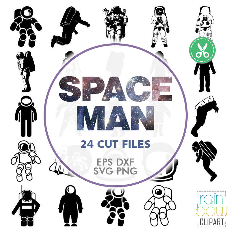 Astronaut svg #8, Download drawings