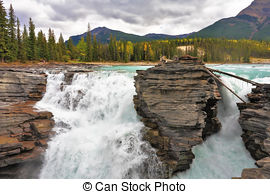 Athabasca Falls clipart #9, Download drawings