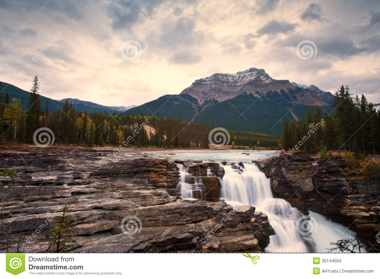 Athabasca Falls clipart #6, Download drawings