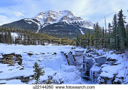 Athabasca Falls clipart #3, Download drawings
