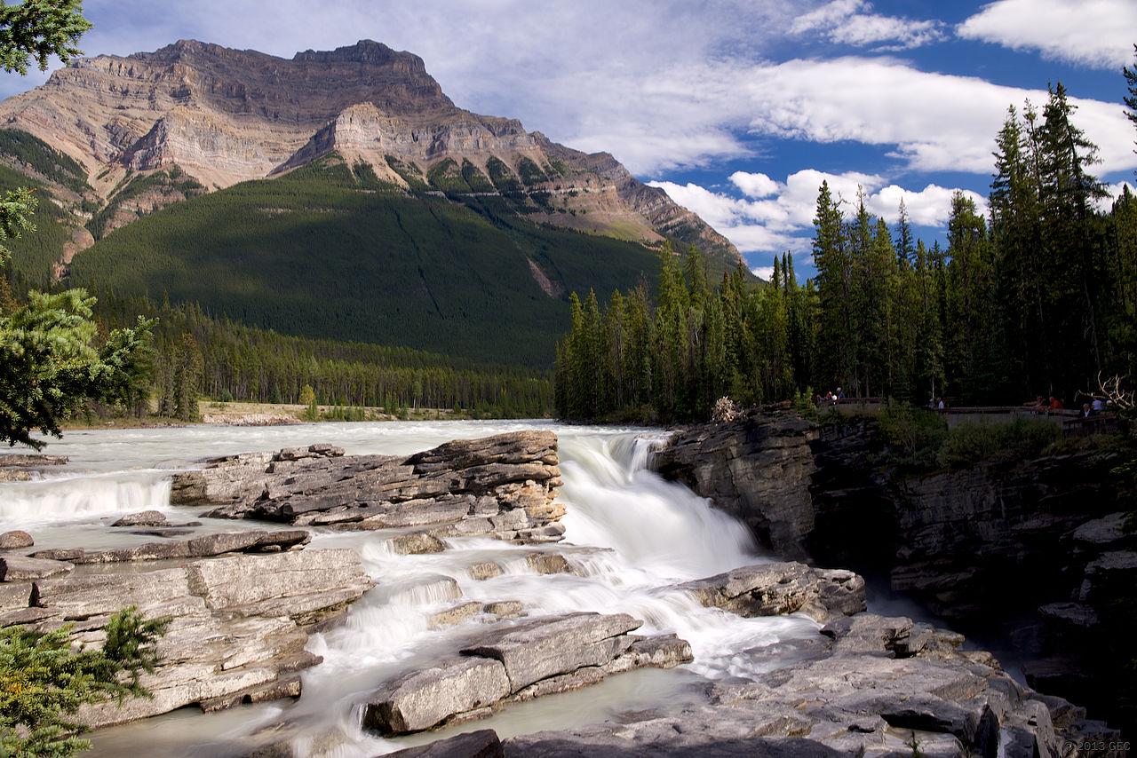 Athabasca Falls svg #15, Download drawings
