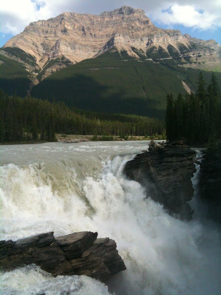 Athabasca Falls svg #12, Download drawings