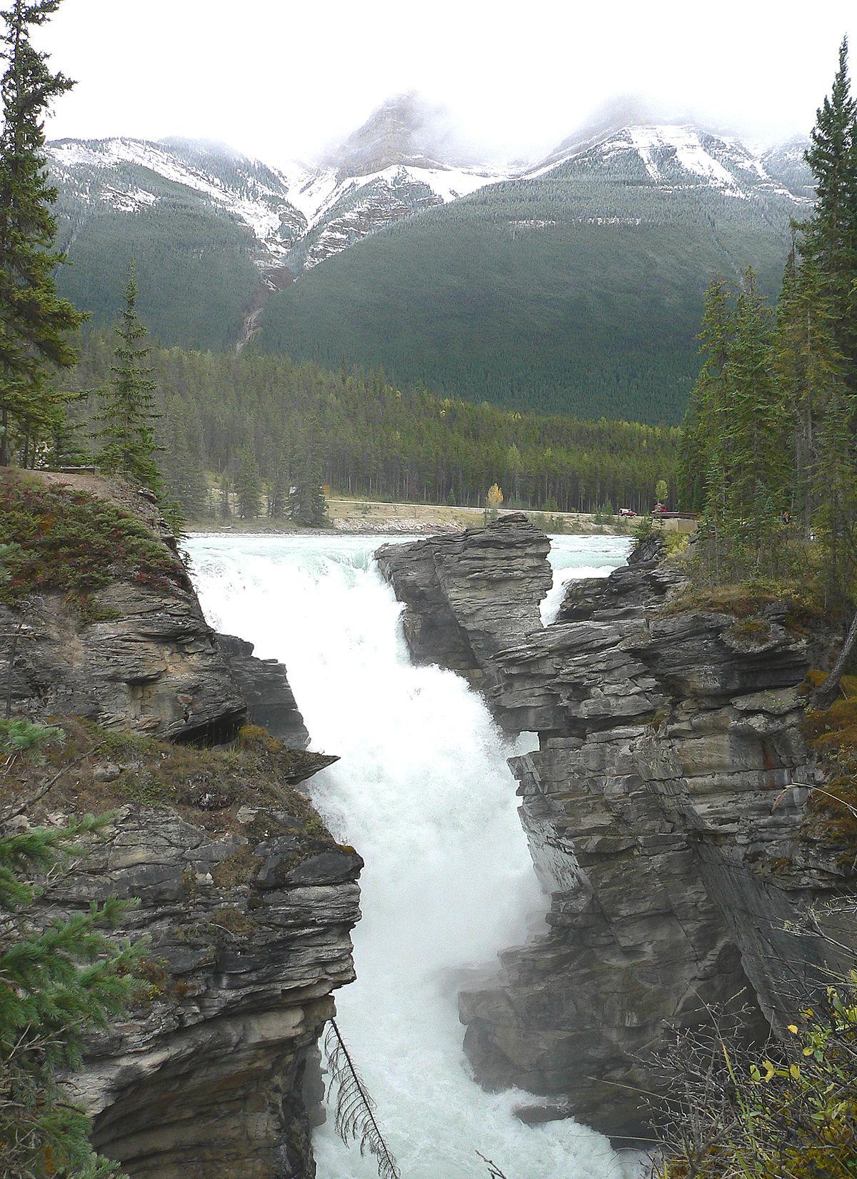 Athabasca Falls svg #20, Download drawings