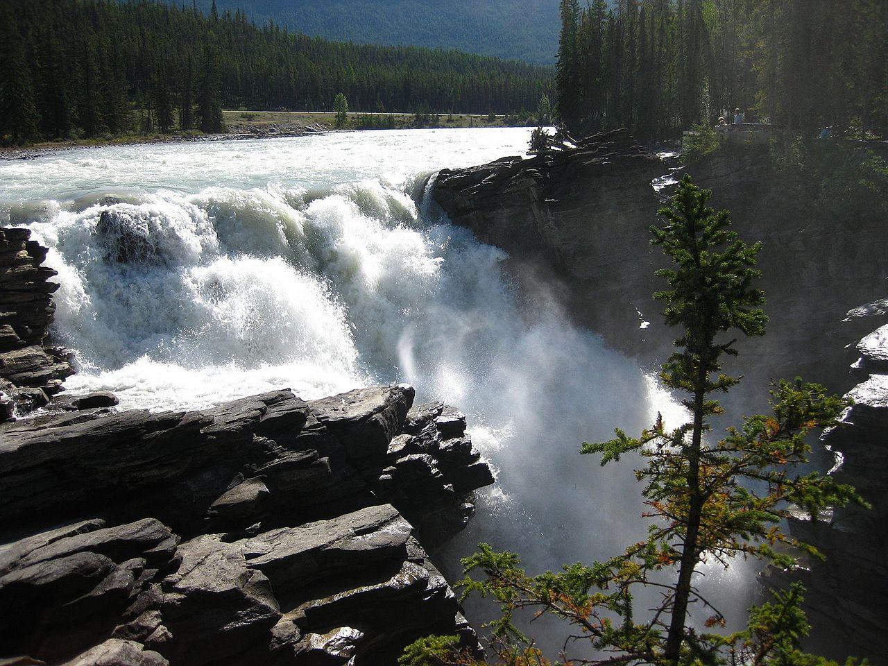 Athabasca Falls svg #17, Download drawings