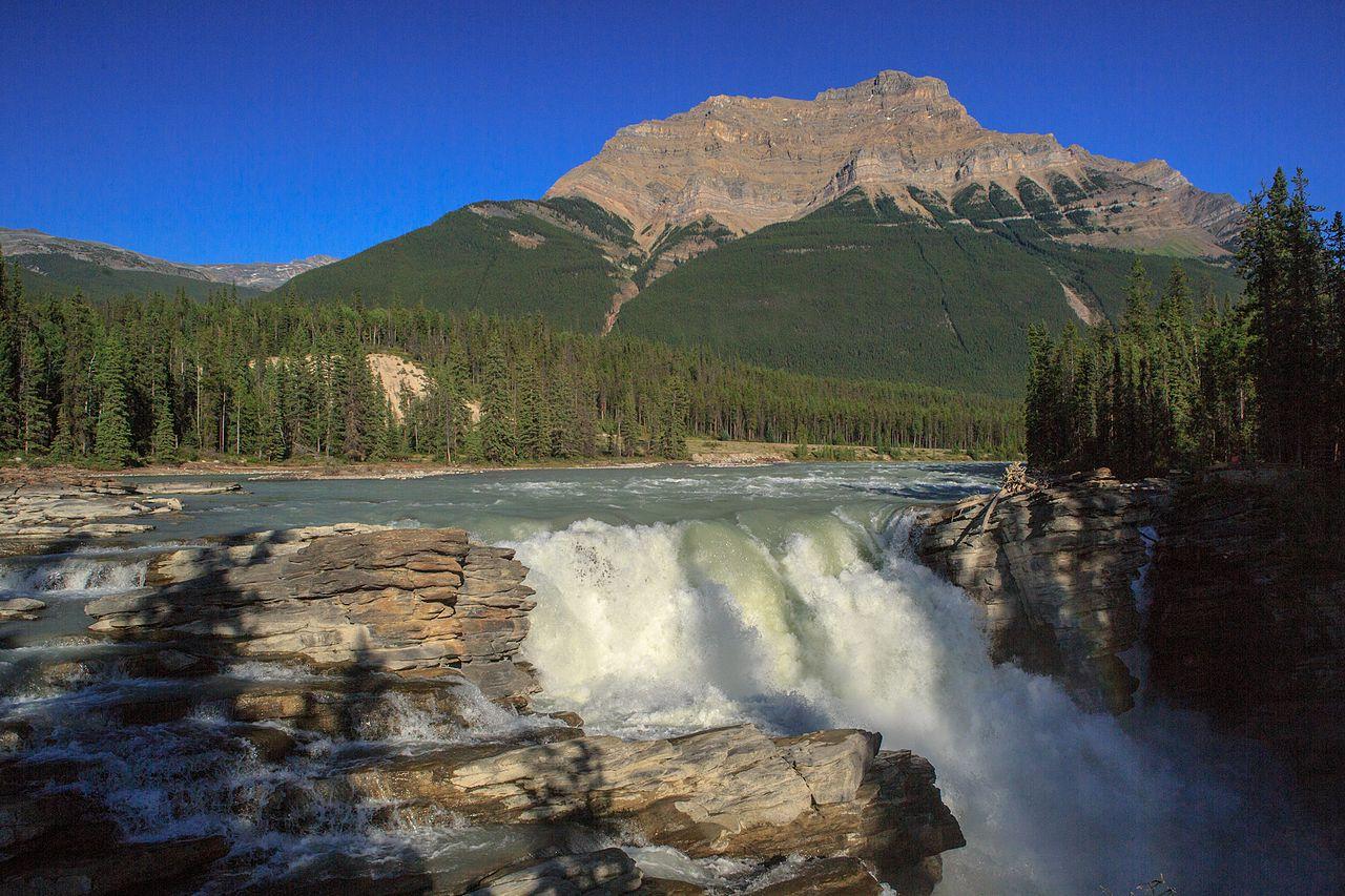 Athabasca Falls svg #6, Download drawings