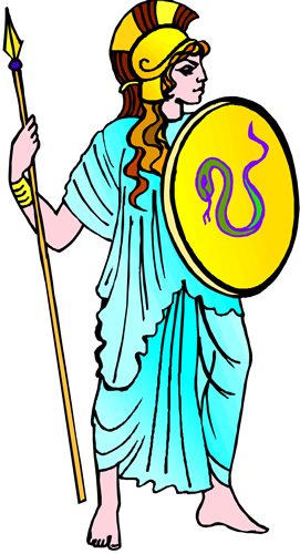 Athena (Deity) clipart #2, Download drawings