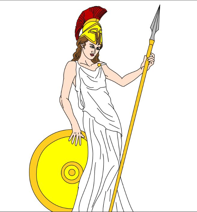 Athena (Deity) clipart #10, Download drawings