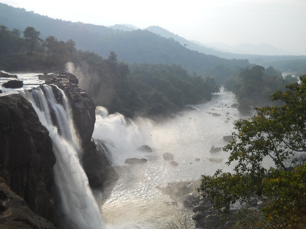 Athirappilly Falls svg #2, Download drawings