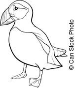 Puffin clipart #9, Download drawings
