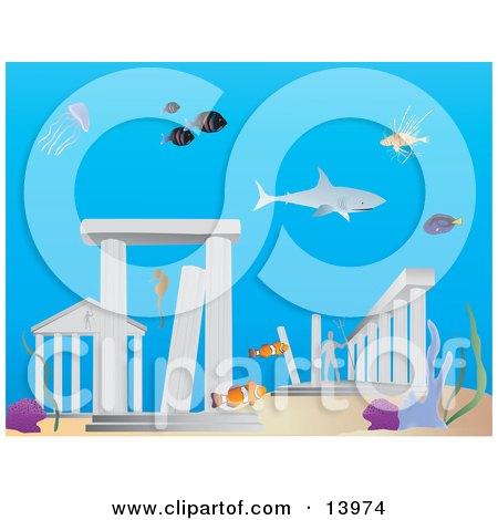 Atlantis clipart #11, Download drawings